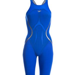 speedo blue lzr x knee